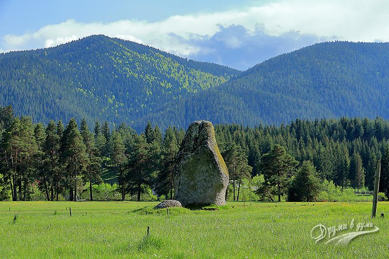 Феноменът Побит камък край едноименното село
