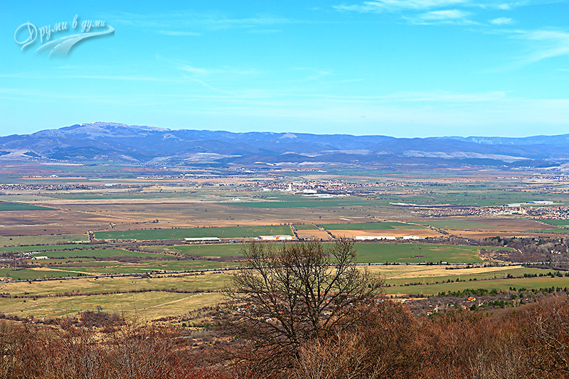 Панорамна гледка от Лозенския манастир