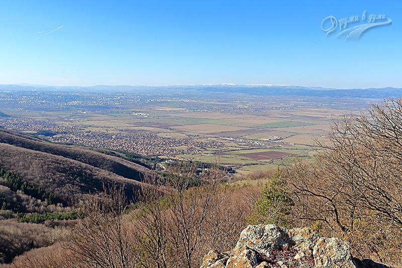 Връх Половрак - гледка към София