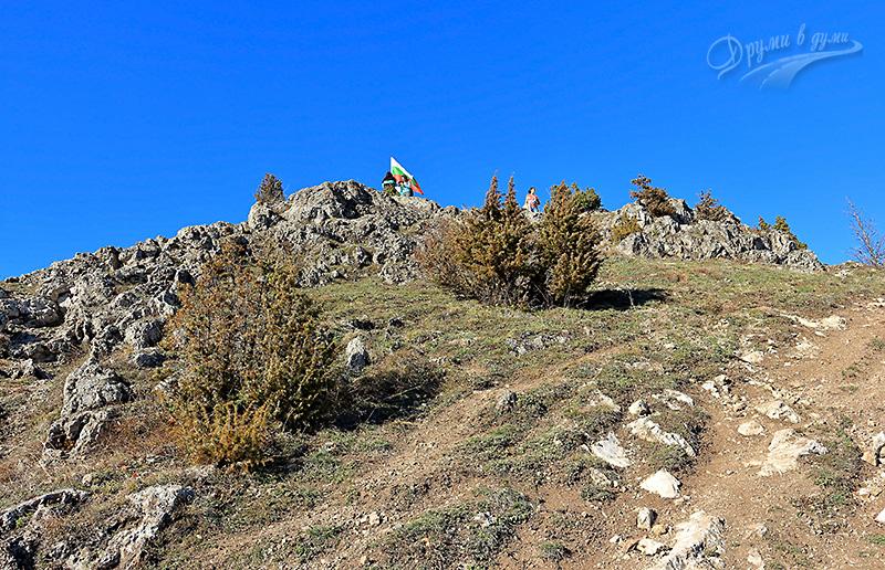 Връх Половрак надолу към Долни Пасарел
