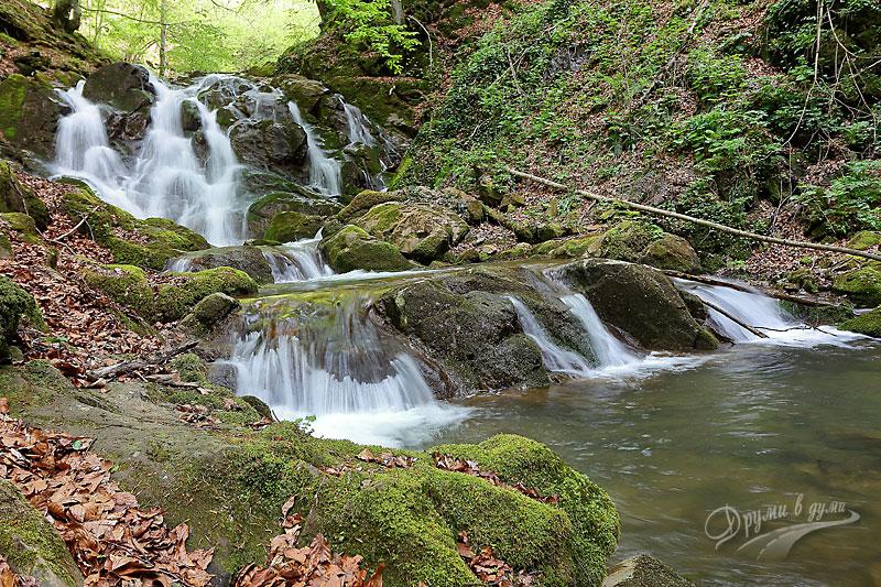 Вторият голям водопад по пътеката