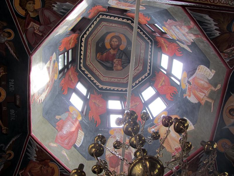 Дивотински манастир - купол на църквата
