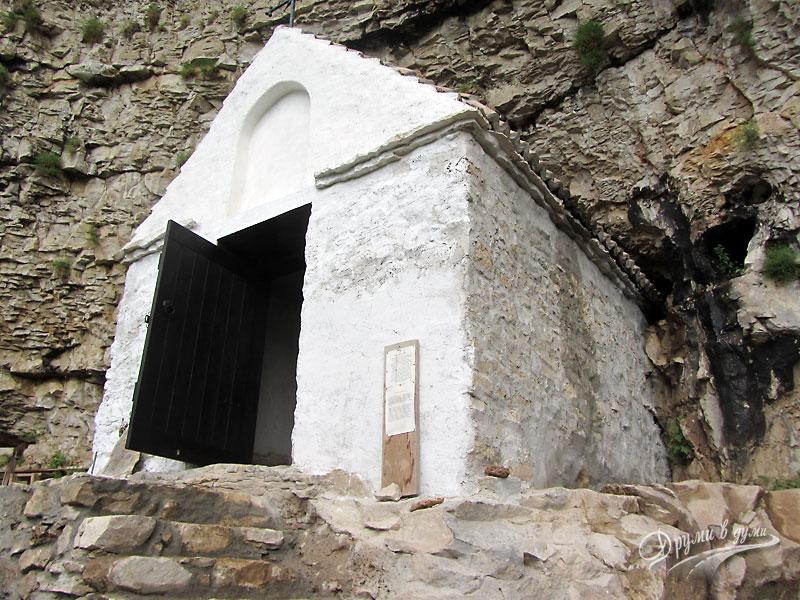 Скален манастир Света Марина - църквата
