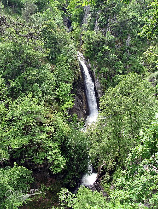 Фотински водопади - трите заедно
