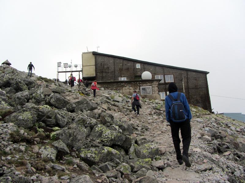 Към връх Мусала - последни метри