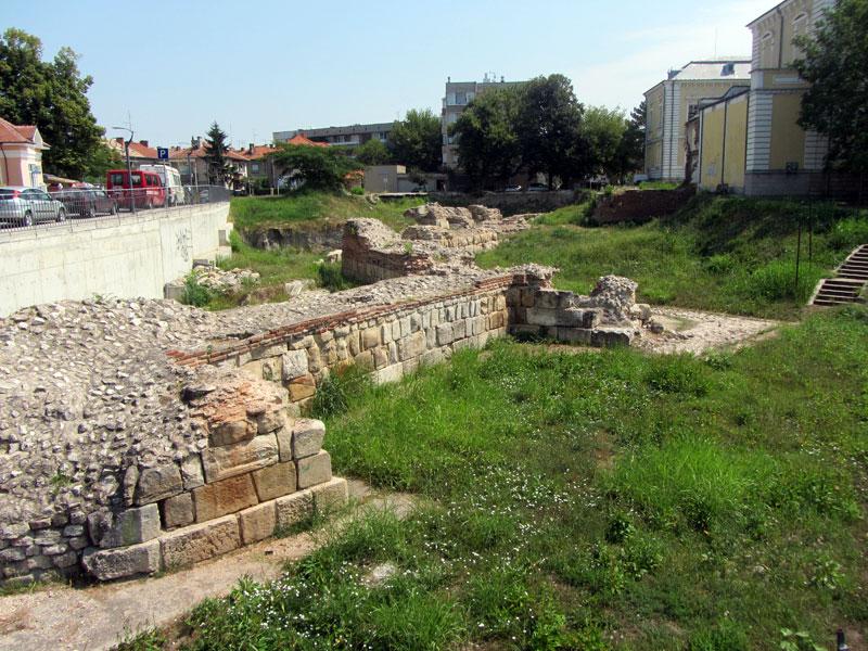 Силистра - крепостта Дуросторум