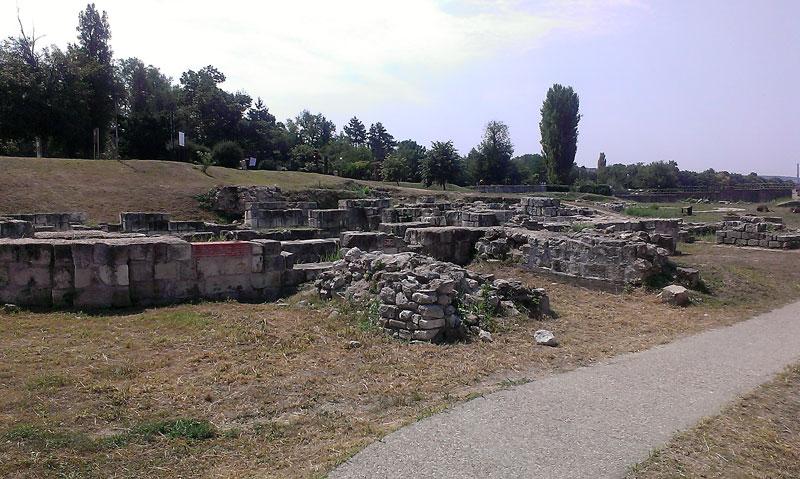 Силистра - още от крепостта Дуросторум