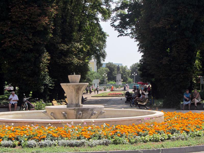 Речната градина в Силистра