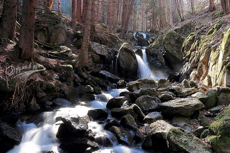 Водопад Самоковище на река Бистрица във Витоша