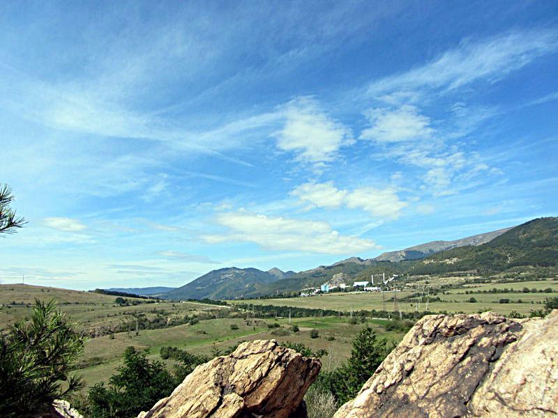 Средногорието - гледка към Стара планина