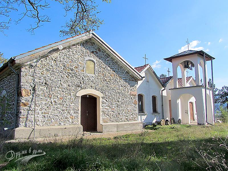 Петте църкви и камбанарията на Букоровски манастир