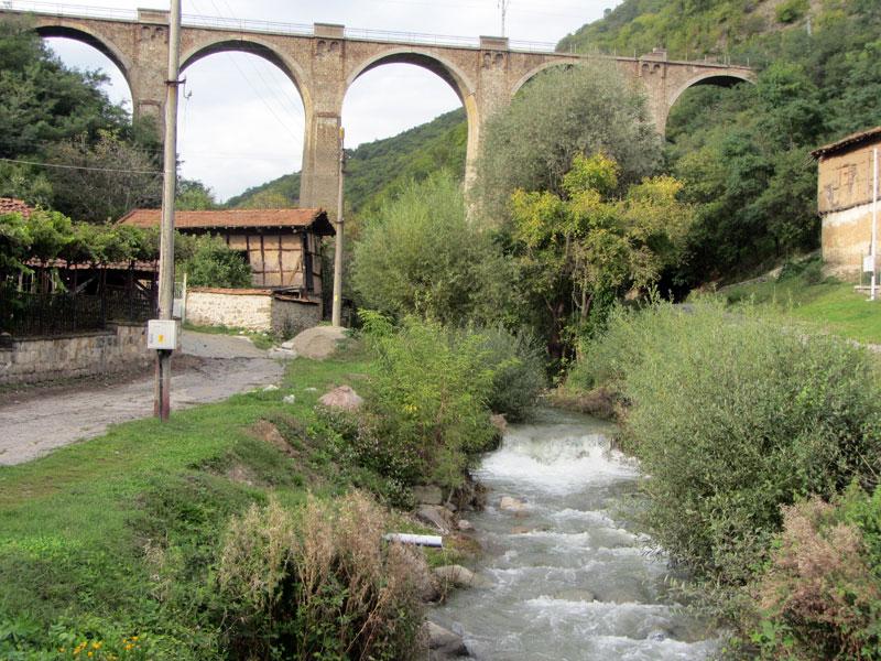 Най-високият ЖП мост на Балканите - село Буново