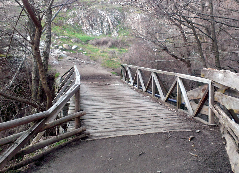 Село Влахи - по пътеката към водопада