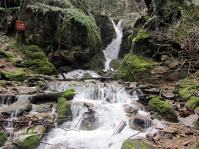 Лешнишки водопад край Петрич