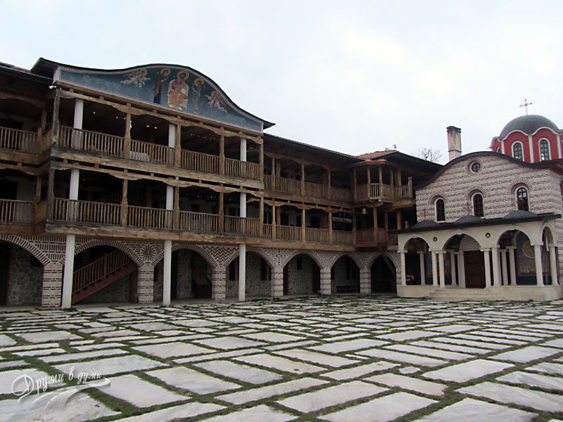 Гигински манастир - новите части