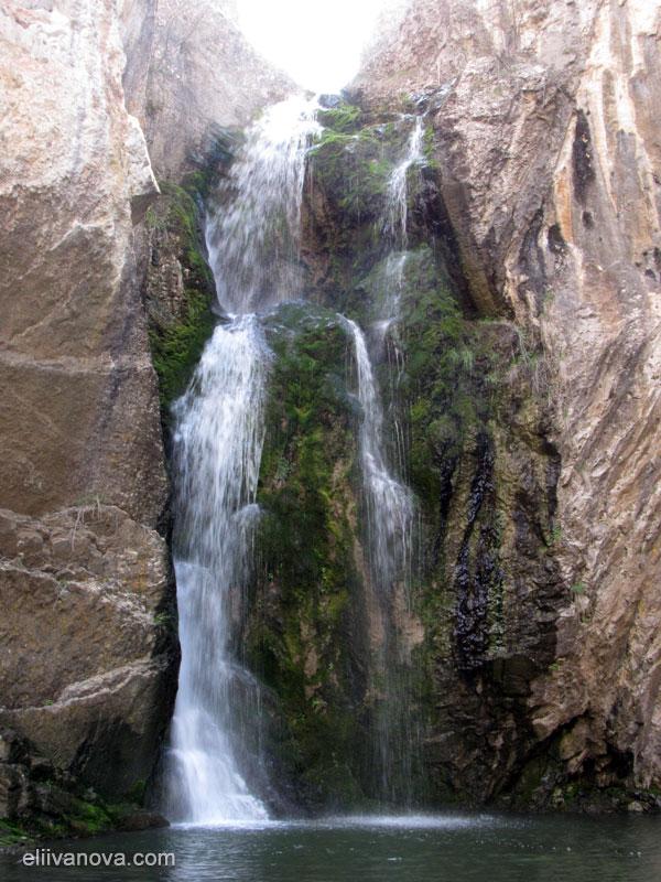 Водопад котлите в почти целия си ръст