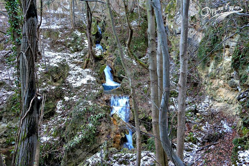И още един водопад на река Сливов дол