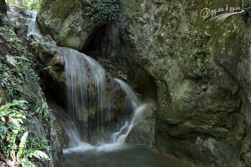 Водопади по пътеката