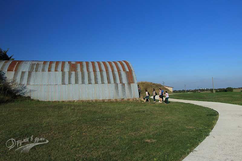 Още една от гробниците в Сборяново