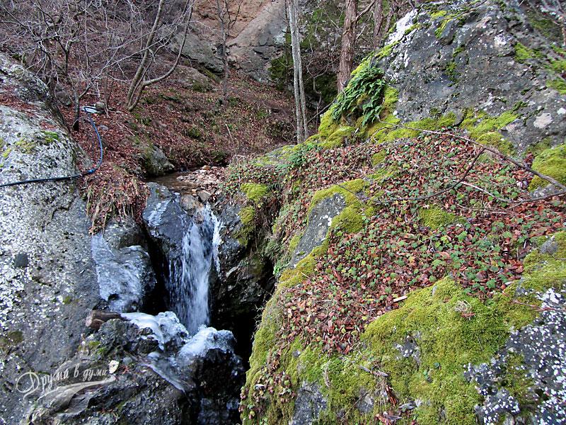 Един от горните водопади Бохемия