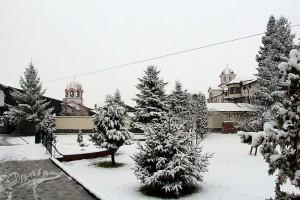 Софийският манастир Свети Мина с трите храма