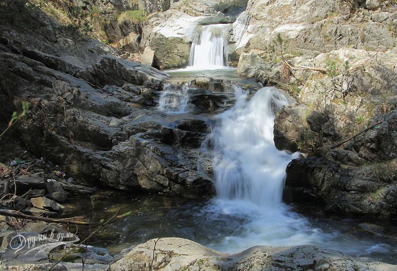 Загражденски водопади - от началната част на пътеката