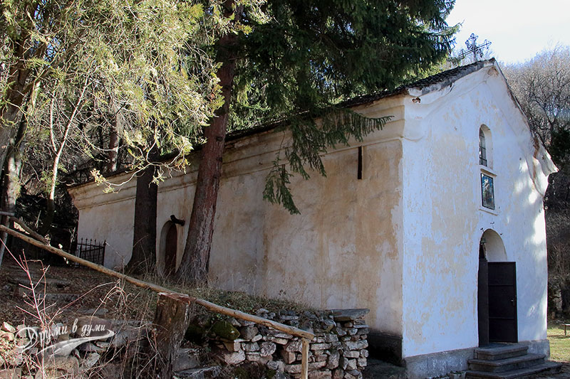 Буховски манастир Св. Архангел Михаил - църквата