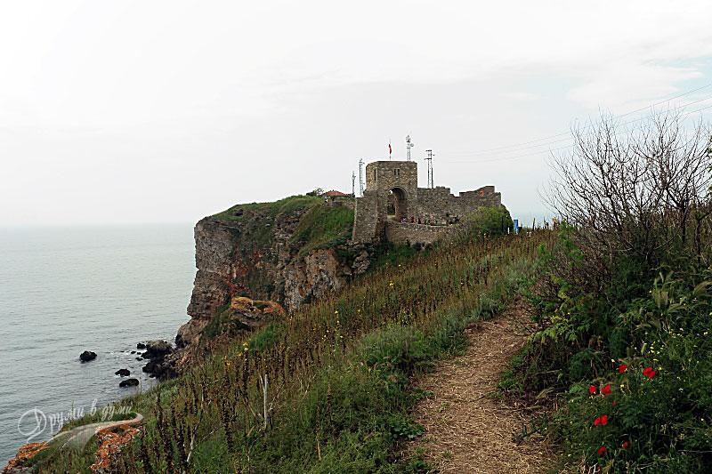 Нос Калиакра - към крепостта