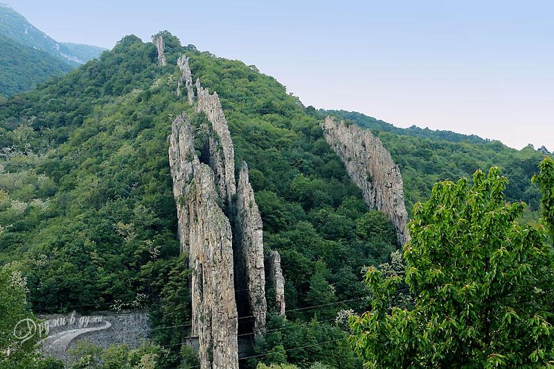 Скален феномен Ритлите в Искърското дефиле