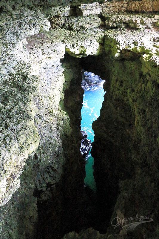 Яйлата - пещерите
