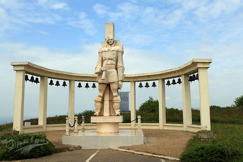Нос Калиакра: паметник на адмирал Ушаков
