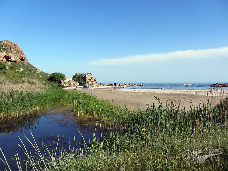Плаж Болата - на задна линия