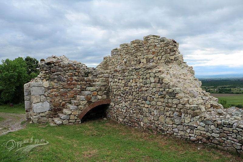 В крепостта - северозападният ъгъл