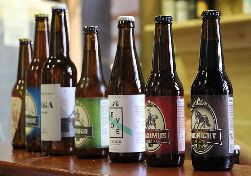 Бирено изобилие в пивоварна Визир
