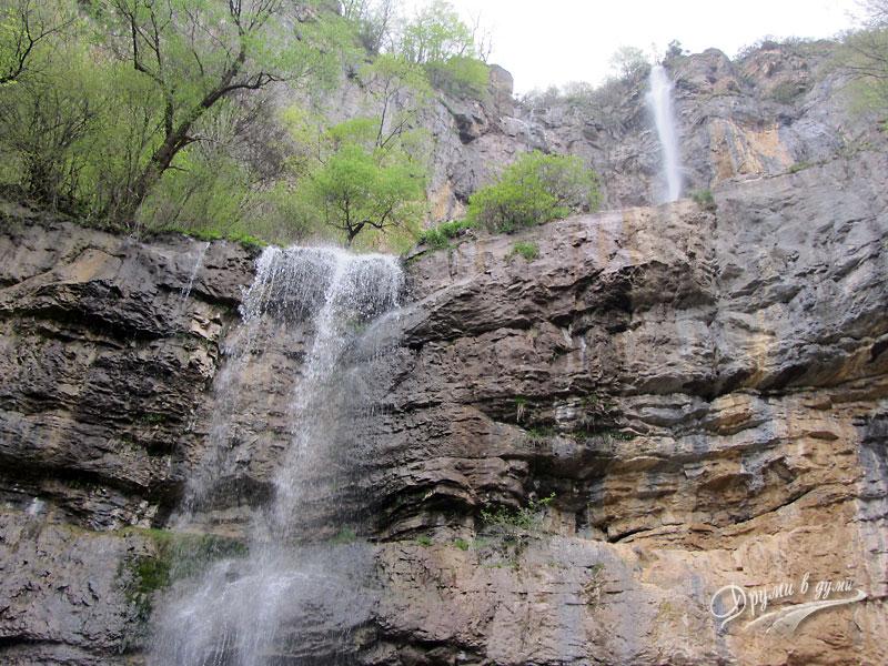 Вазовата екопътека: водопад Скакля