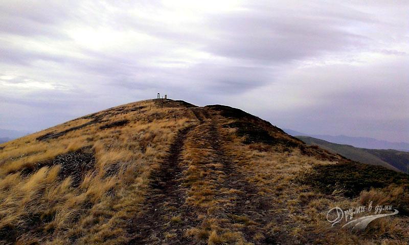 Към връх Ком