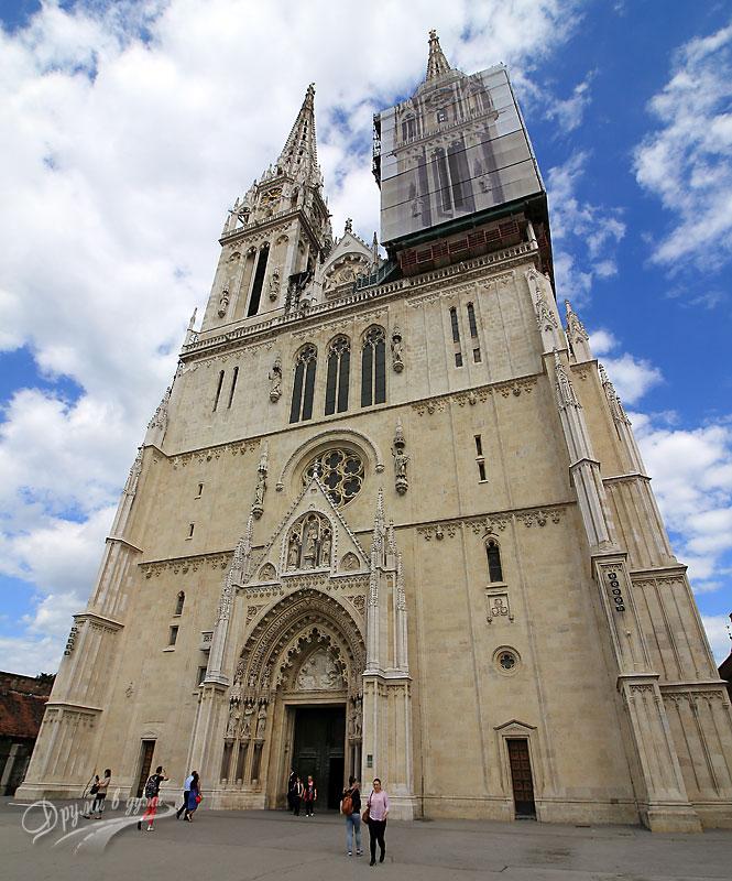Загреб: катедралата Света Богородица
