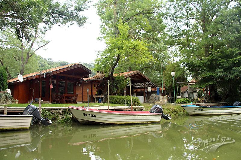 Boat ride along the Kamchia River