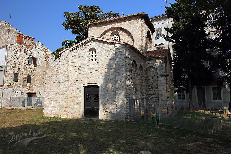Pula: the Chapel of St. Mary Formosa