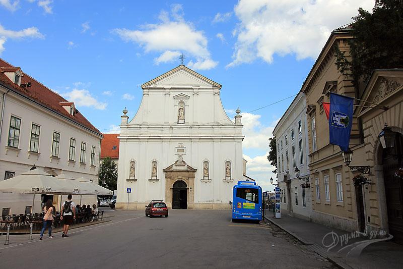 Загреб: църквата Света Катерина