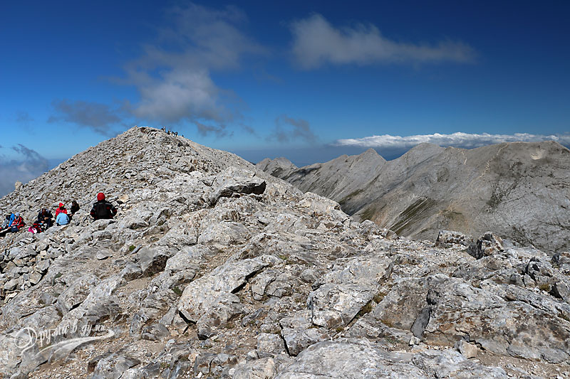 Връх Вихрен: горе на върха