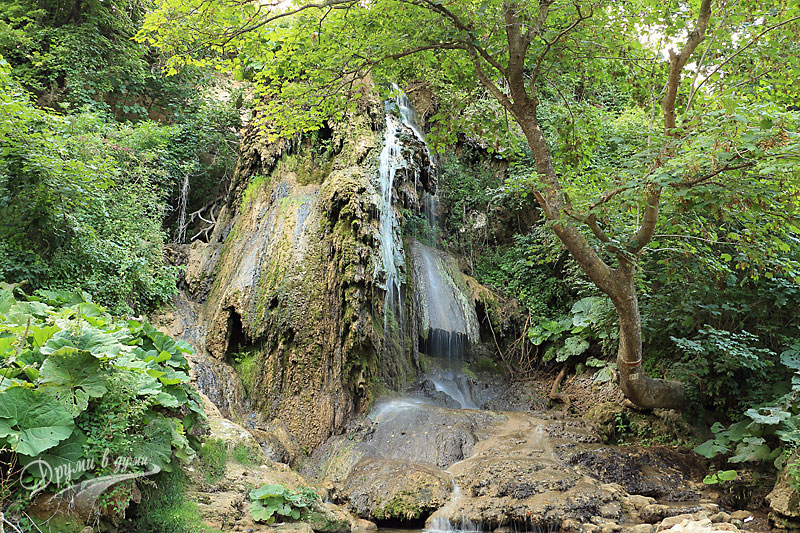 Boazza waterfall near Targovishte