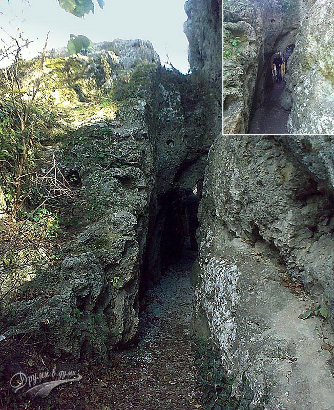 Хотнишка екопътека: тясното място