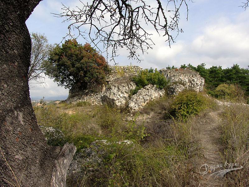 Мелник: останките от Замъка на деспот Слав