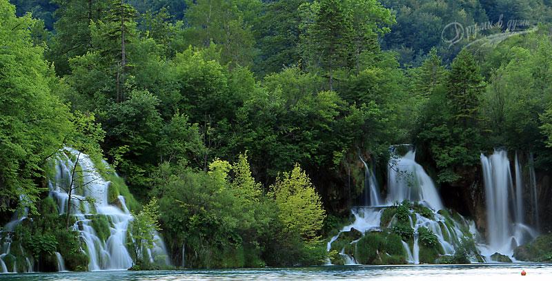 Плитвички езера: водопади