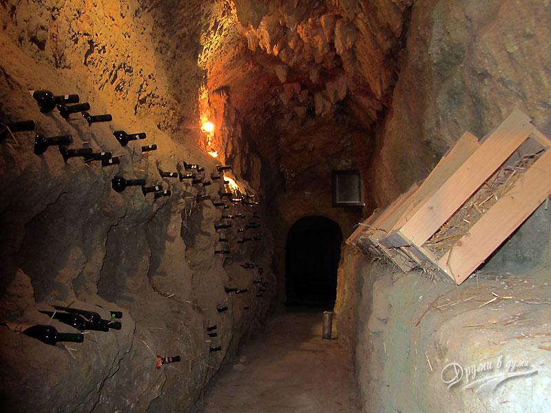 Музей на виното: една от избите