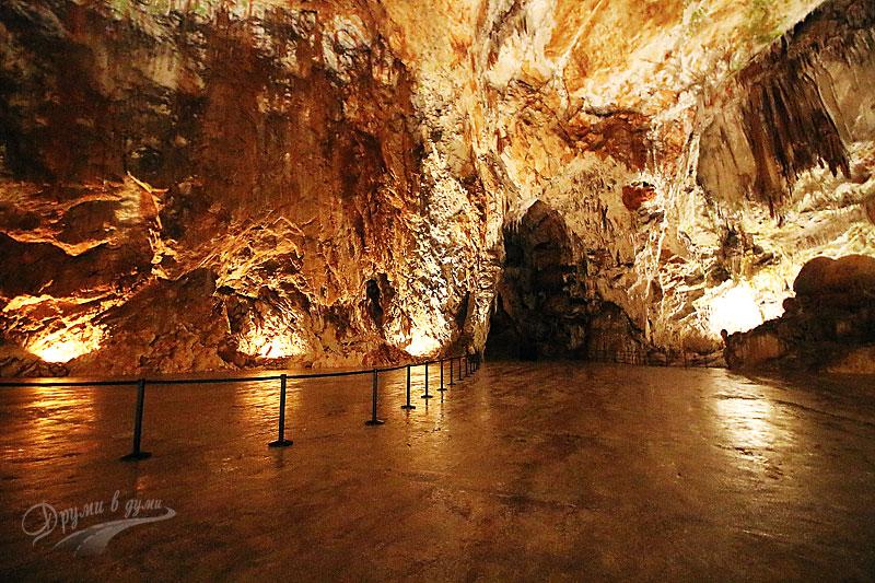 Пещерата Постойна, Словения