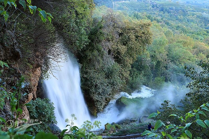 Едеса: горният водопад