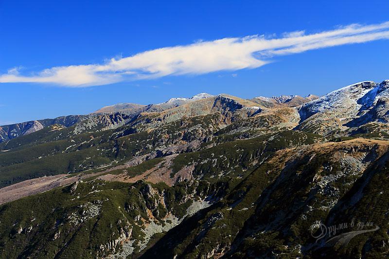 Панорамни гледки: рилски върхове