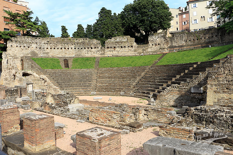 Trieste: The Roman amphitheater
